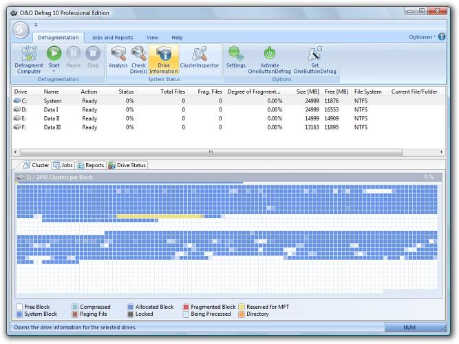 O&Amp;O Defrag 10 Pro + Server